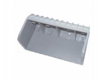 6X1482.002 Заглушка ложемента B=100, H=40 мм PVC серая