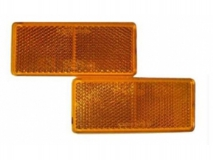 6X1354.009 Светоотражатель 90x40 желтый DOB-35Z