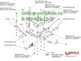 O/028 Фаркоп на Opel Omega B 1994-2003