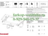 026-911 Фаркоп на Opel Zafira A 1999-2005