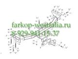 017-671 ТСУ для Mitsubishi Pajero Sport 2.5,3.0 1998-