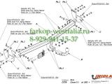 C/016 ТСУ для Peugeot 1007 03/05-