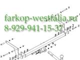 316314600001 ТСУ для Renault Duster 03/10- и 4x4, и 4x2