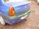 1418-A ТСУ для Renault Logan тип кузова седан 2005-