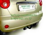 C208-A Фаркоп на Chevrolet Spark  2005-2011