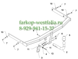 H 14 ТСУ для Skoda Octavia II тип кузова универсал/лифтбек 2004-