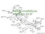481900 ТСУ для Citroen Jumper 2006-