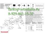 034-962 ТСУ для Citroen Jumper 6/06-