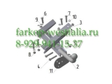 DW 04 ТСУ для Daewoo Matiz тип кузова хэтчбек 5 дв. 2002-