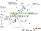 F/022 ТСУ для FIAT Panda 2WD 2003- 2012
