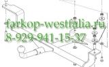 1226-H ТСУ для Lada - 2110 тип кузова седан 1996-