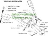 6502-A ТСУ для Uaz - 3159, 3160, 3162, 3163 Patriot 4x4 1994-
