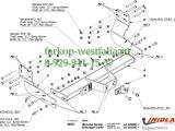 M/031Фаркоп на Volkswagen Crafter 2006-