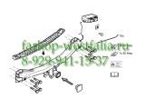 321641600001 ТСУ для Porsche Cayene, балка под квадрат , без шара 2002-