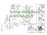 343700 ТСУ для Iveco Daily II, III 1999-