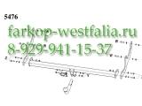 316286600001 ТСУ для Renault Sandero тип кузова хэтчбек 06/2008-