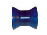 6X1064.013 Ролик носовой L=74 мм, D=73/50/14.5 мм PVC синий