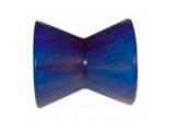 6X1064.014 Ролик носовой L=95 мм, D=87/54/14.5 мм PVC синий
