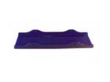 6X1065.010  Подкладка килевая 300 Х 86 PVC синяя
