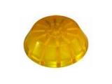 6X1066.001 Пробка для носового рол L=40, D=120/14 мм,желтая