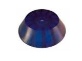 6X1066.003 Пробка для нос. рол L=40, D=120/14 мм, синяя