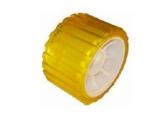 6X1067.011 Ролик опорный L=75 мм, D=128,5/26 мм PVC желтый