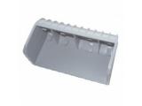 6X1482.004 Заглушка ложемента B=150, H=40 мм PVC серая