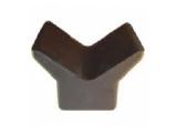 6X1065.007 Упор носовой A170, B100, C90, D45, E45 мм, резиновый
