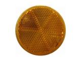 6X1354.030  Светоотражатель d=60 желтый DOB-32 Z самоклейка