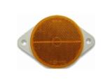 6X1354.072 Светоотражатель d=80 красный DOB-39 С (с ушами)