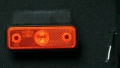 6X1354.134   Фонарь контурный FT-004Z K LED желтый