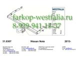 332308600001 Фаркоп на Nissan Note 10/2013-