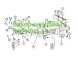 3984-F ТСУ для Ford Transit VAN (без электрики) 2014-