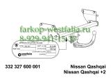 332327600001 Фаркоп на Nissan Qashqai 02/14-