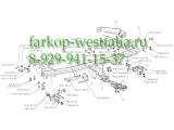 332318600001 ТСУ для Infiniti FX37 06/2012-
