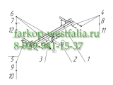 1234-A ТСУ для Lada Vesta 2015-