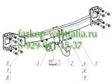 2151-A Фаркоп на Porsche Cayenne 2002-2010