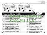 754051 Оригинальная электрика на Toyota Land Cruiser 150