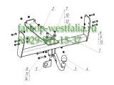 6510-A ТСУ для UAZ-39094 Fermer/Profi (без электрики) 1997-