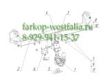 4756-AK41 Фаркоп на BMW X4 2014- (F26)
