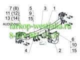 3555-AK6 Фаркоп на AUDI Q7 2006-2015
