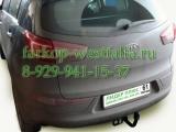K112-A Фаркоп на Hyundai ix35 2010-