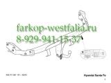 346011600001 Фаркоп на Hyundai Santa Fe 2001-2006