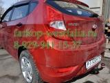 4254-A Фаркоп на Hyundai Solaris 2010-2014